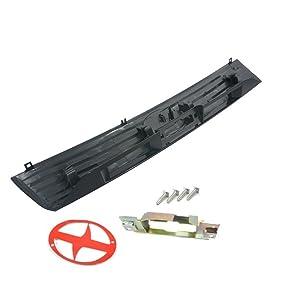 Sentinel Parts Liftgate Tailgate Hatch Garnish Door Handle KIT Primed Black for 2004-2006 Scion xB