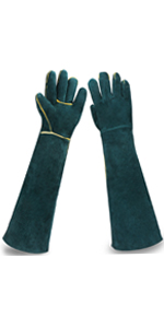 garden gloves Rose Pruning Gardening Gloves Women Long work Glove Puncture Resistant Thorn Proof