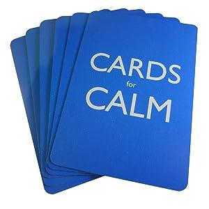 Cards for Calm - Deck backs spread.