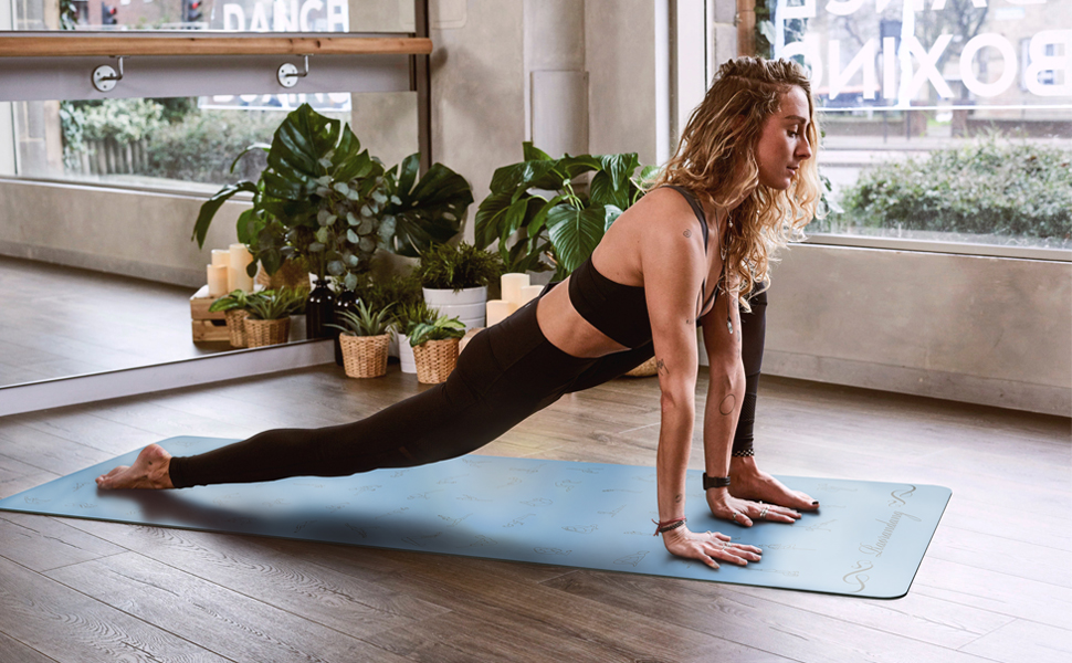Amazon.com: RaoRanDang - Alfombrilla de yoga antideslizante ...