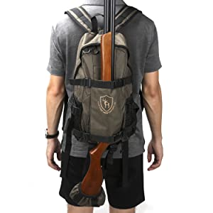 Hunting Camping Hiking Backpack Bow Gun Rifle Carry Holder Bag Tactical Daypack
