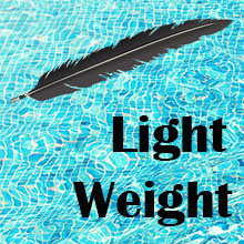 light weight bathing suit