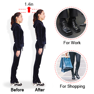 Height Increase Insole, Heel Lifts for
