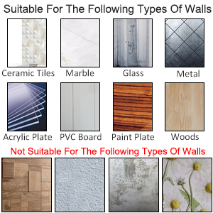 Amazon.com: isightguard - Ganchos adhesivos de pared ...