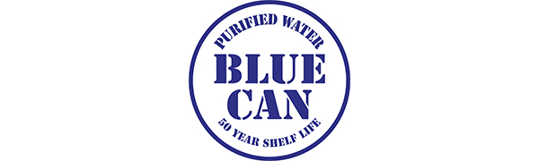 Blue Can Water Logo