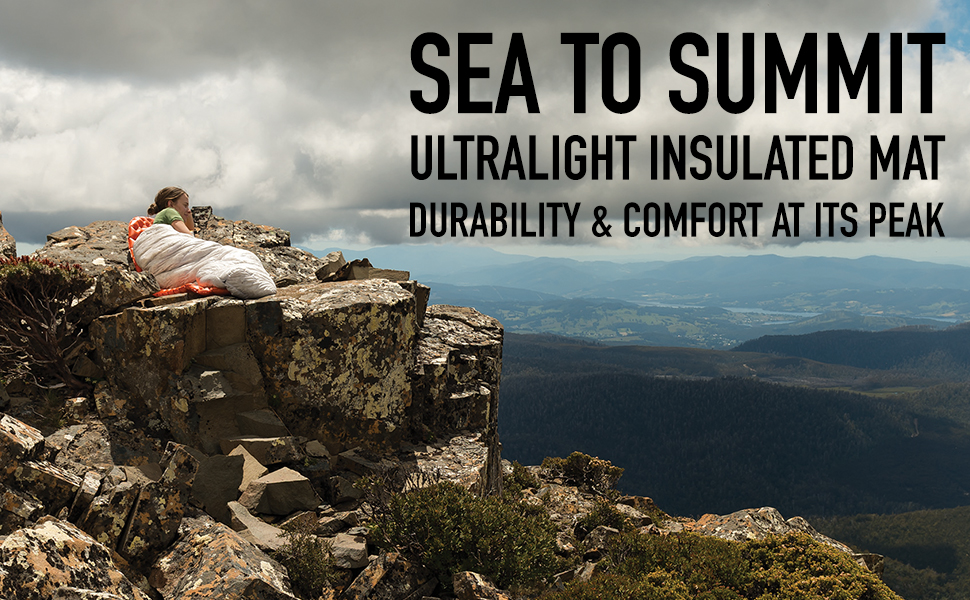 SEA TO SUMMIT ULTRALIGHT INSULATED MAT DURABILITY & COMFORT AT ITS PEAK