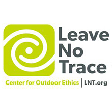 Leave No Trace Center for Outdoor Ethics logo.