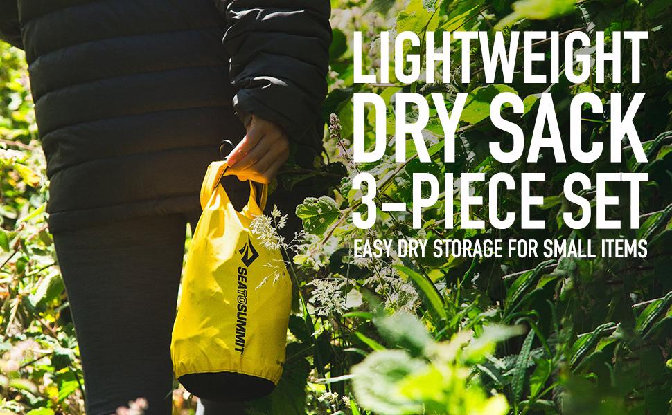 Lightweight Dry Sack 3-Piece Set