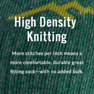 High density knitting definition