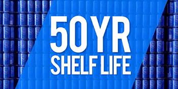 50 Year Shelf Life