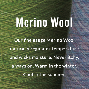 Merino Wool detail call out