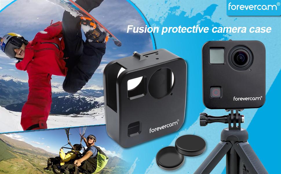 fusion case protection lens cap