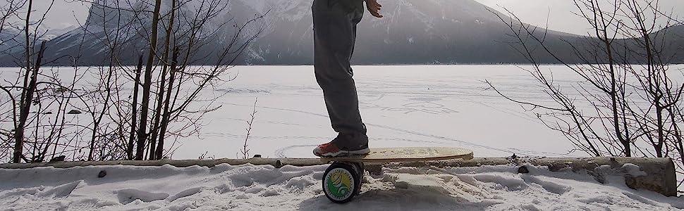Winter sport training, snowboard trainer, ski trainer, INDO BOARD, Balance Board, Balance Trainer