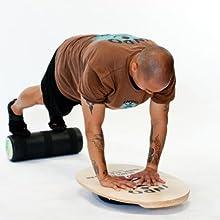 INDO BOARD Original Training Package, balance board, balance trainer, bongo board, fitness board