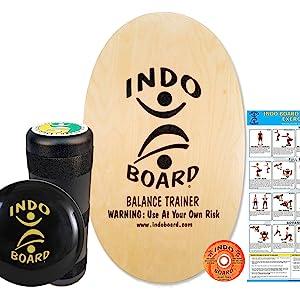 INDO BOARD Original Training Package, Balance Board, Balance Trainer, INDO Balance Board Trainer