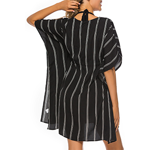 28ba516750 Gladiolus Women s Plus Size Bathing Suit Swim Bikini Swimsuit Oversized Cover  Up Beach Dresses