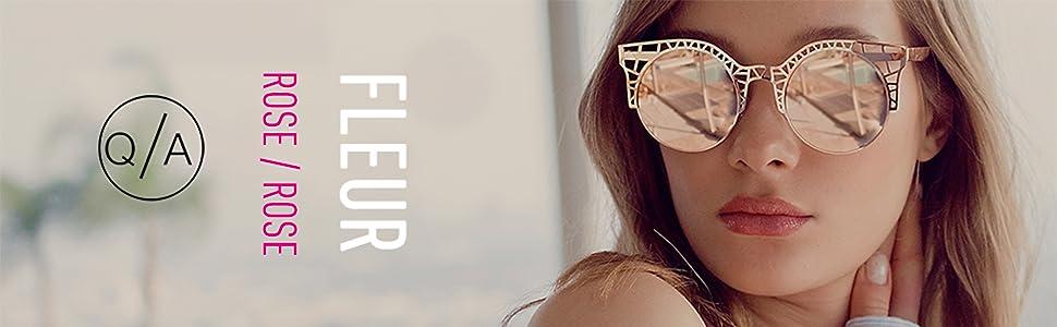 b017424a96b Amazon.com  Quay Women s Fleur Sunglasses