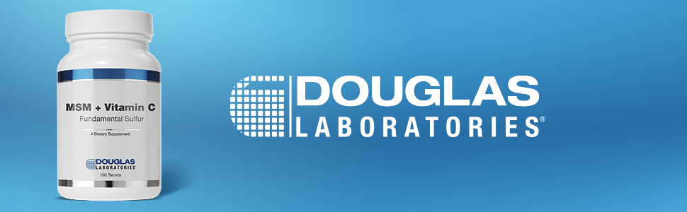 Douglas Laboratories - MSM + Vitamin C (Fundamental Sulfur) - Supports  Wound Healing and