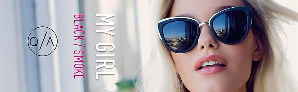 ce1b1bd5e5 Amazon.com  Quay Women s My Girl Sunglasses