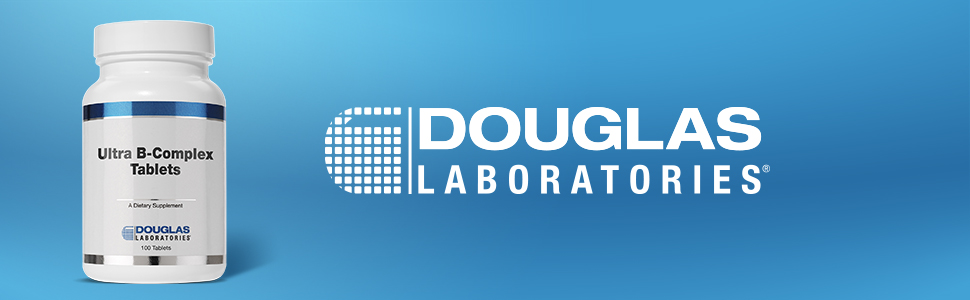 Douglas Laboratories Ultra B-Complex Tablets