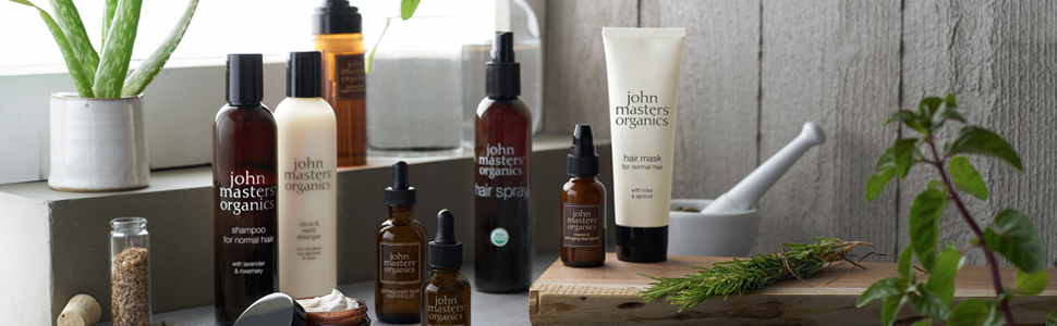 John Masters Organics - Spearmint & Meadowsweet Scalp Stimulating Shampoo - Volumizing & Moisturizing Formula Infused with Essential Oils & Proteins ...