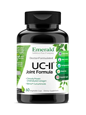 uc ii joint formula emerald laboratories vitamin supplement bottle image