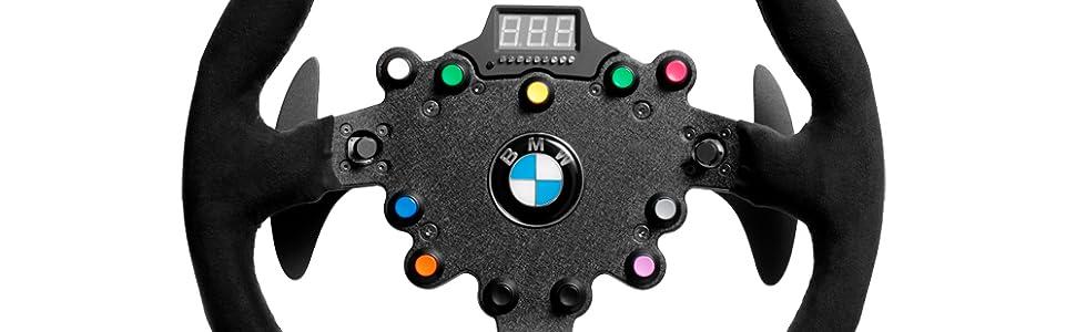 Amazon com: Fanatec ClubSport Steering Wheel BMW GT2: Video