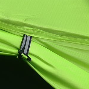 Luxe Tempo 1 Person Tent Ultralight Backpacking Single Person Solo Camping Waterproof Rain Fly