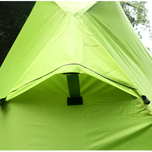 Luxe Tempo 1 Person Tent Ultralight Backpacking Single Person Solo Camping Ventilation Vent