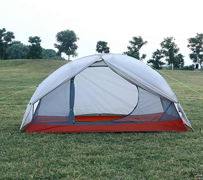 Designed for traveling alone into the backcountryLuxe Tempo 1 Person tent is lightweight and compact for solo excursionstrekking across challenging ...  sc 1 st  Amazon.com & Amazon.com : Luxe Tempo Ultralight 1 Person Tent 3.3Lb Backpacking ...