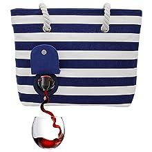 Secret pocket, party bag, deposit, portovino, gift for wine lovers, take-away drink