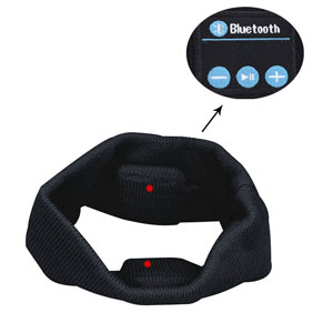 bluetooth music headband lc dolida wireless bluetooth stereo headband headphones. Black Bedroom Furniture Sets. Home Design Ideas