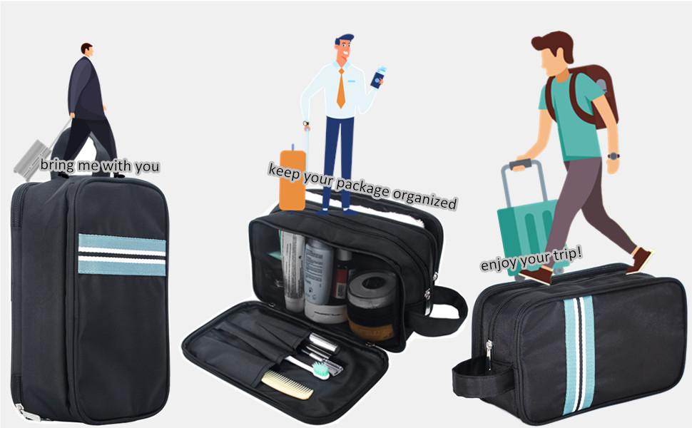 toiletry organiser kit