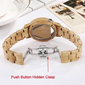 wooden strap