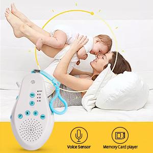 Amazon.com: Three sheep Recordable White Noise Sleep Baby ...
