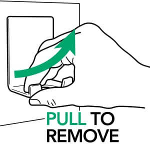 PULL TO REMOVE AIRSTIK