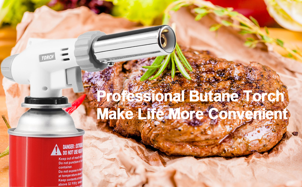 Butane Torch Kitchen Blow Lighter