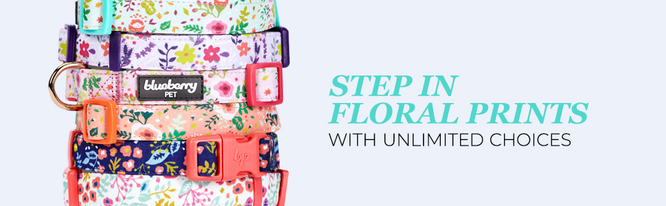 FLORAL COLLARS