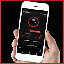 Free bluetooth smartphone app to easily manage your safe.