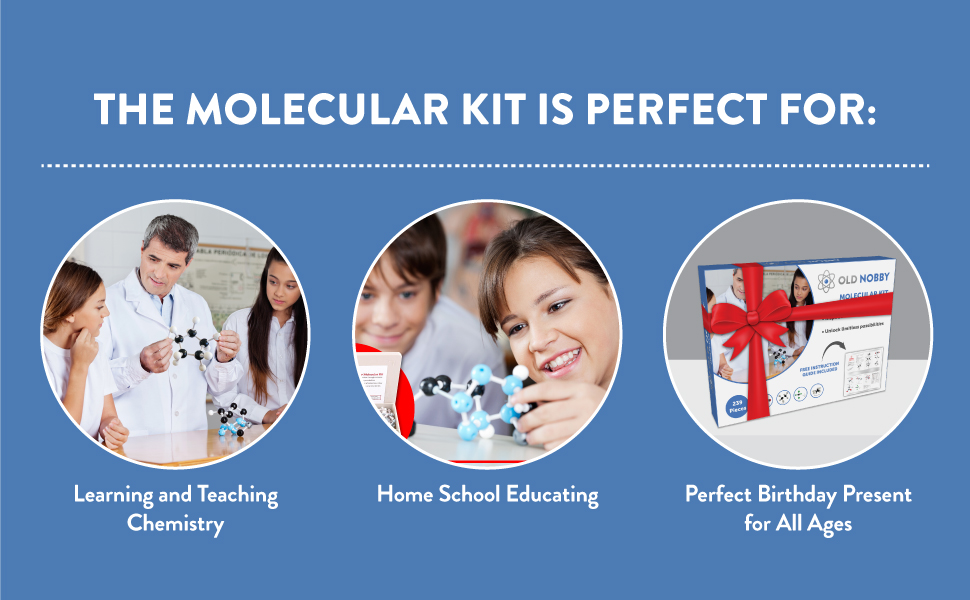 molecular kit educating teaching fun