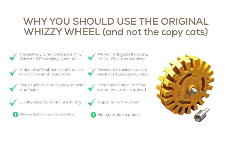 whizzy wheel quality