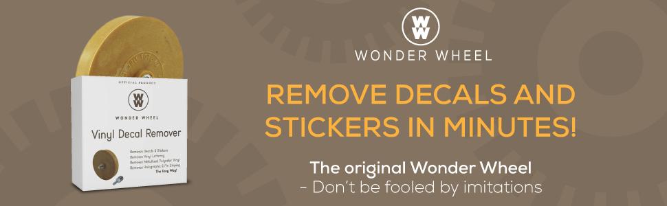 wonder wheel remove new decals