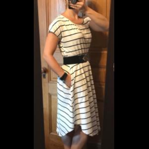 knee length dress nightdress