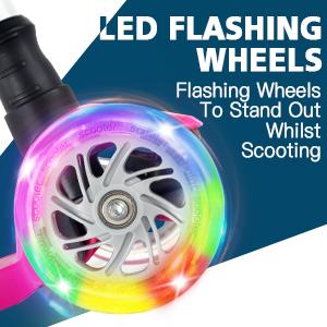 LED Flashing Wheels