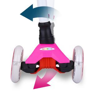 Lean-to-Steer Mechanism