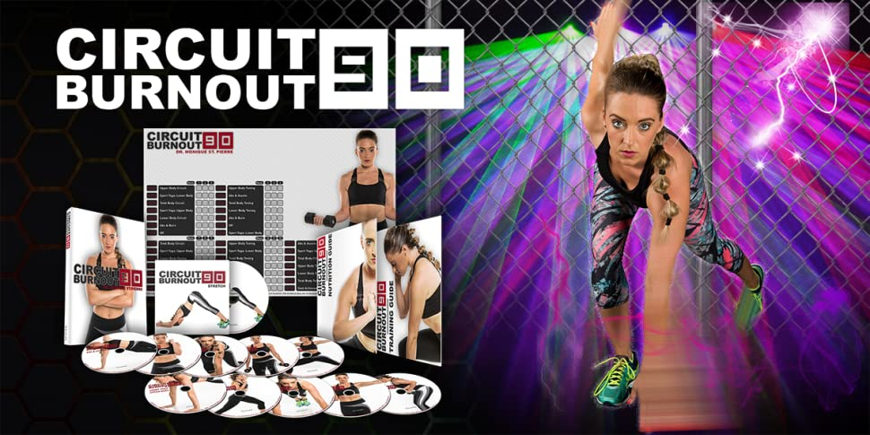 Amazon.com: CIRCUIT BURNOUT 90: 90 Day DVD Workout Program with 10+1 Exercise Videos + Training