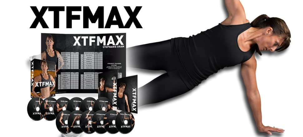 XTFMAX: 90 Day DVD Workout Program with 12 Exercise Videos + Training Calendar & Fitness Guide and Nutrition Plan 11