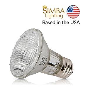 simba lighting halogen par20 par 20 e26 medium screw light bulb 39 watts 39w 50 watts 50w