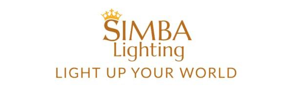 simba lighting light up your world logo slogan