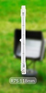 Halogen R7S 118mm